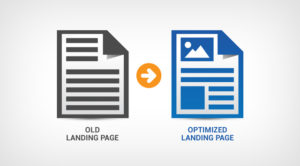 landing pages old optimised to new