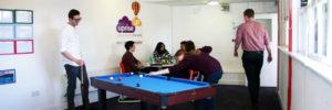 young people - pool