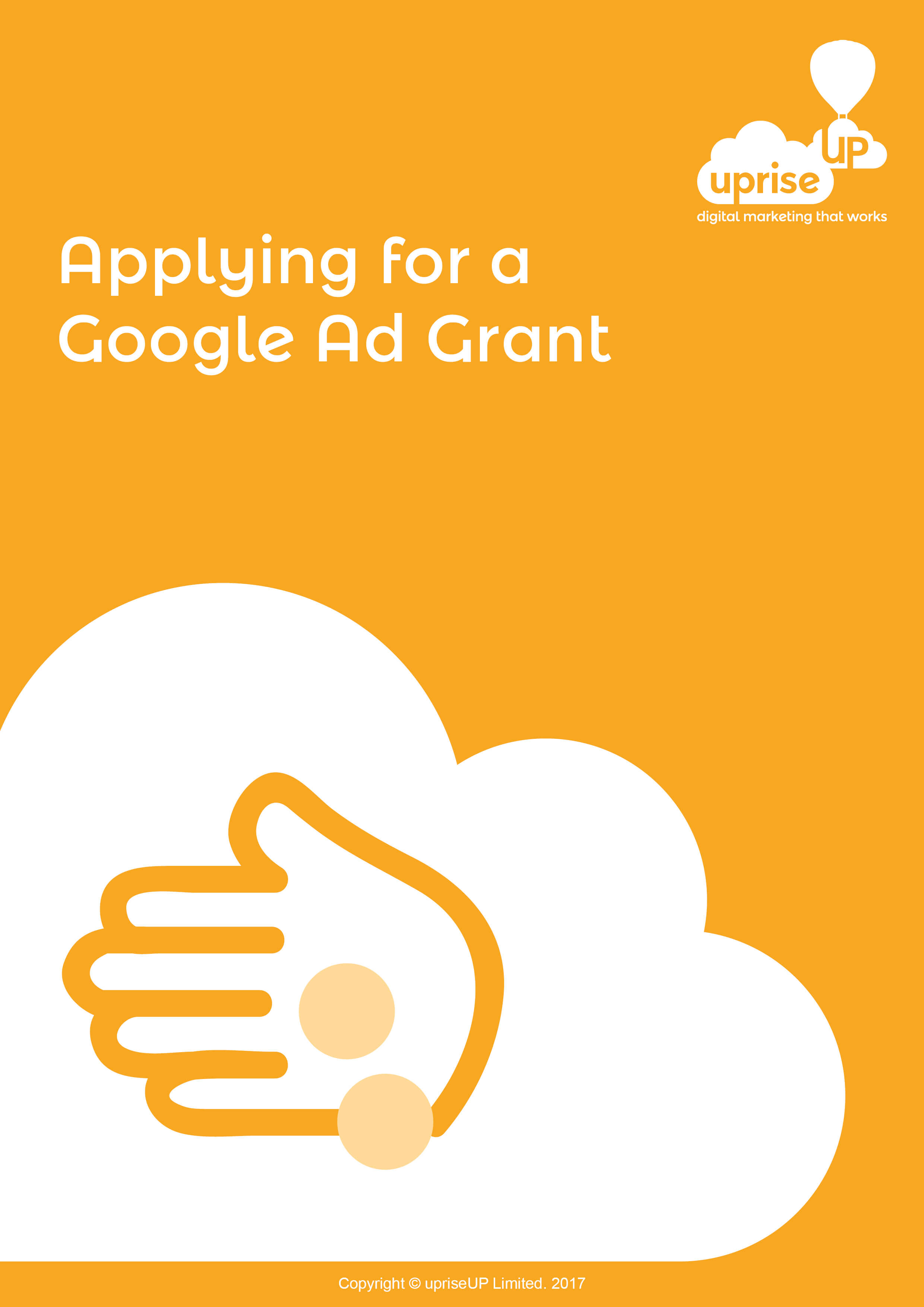 Applying for a Google Grant eBook Cover