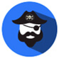 Google's Pirate update icon