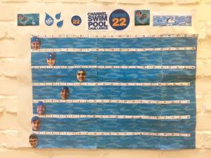 Diabetes Swim22 Progress Chart