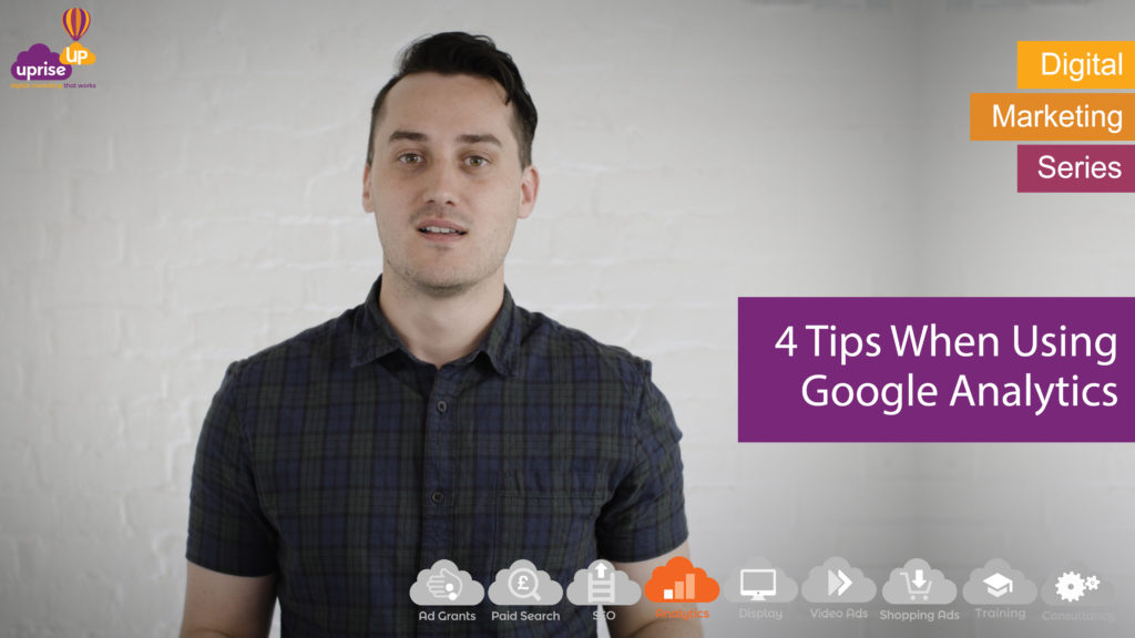 Ben's Vlog, 4 tips when using Google Analytics