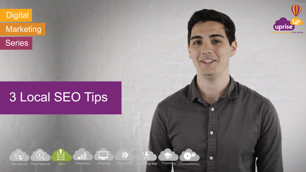 Ed's Vlog, 3 Local SEO Tips To Help You Rank Highly In Google