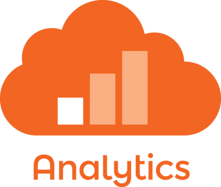 Analytics service cloud icon