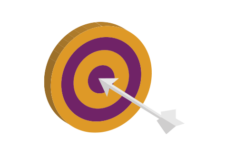 Arrow in Target Icon