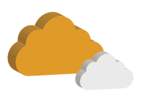 3D Cloud Logo