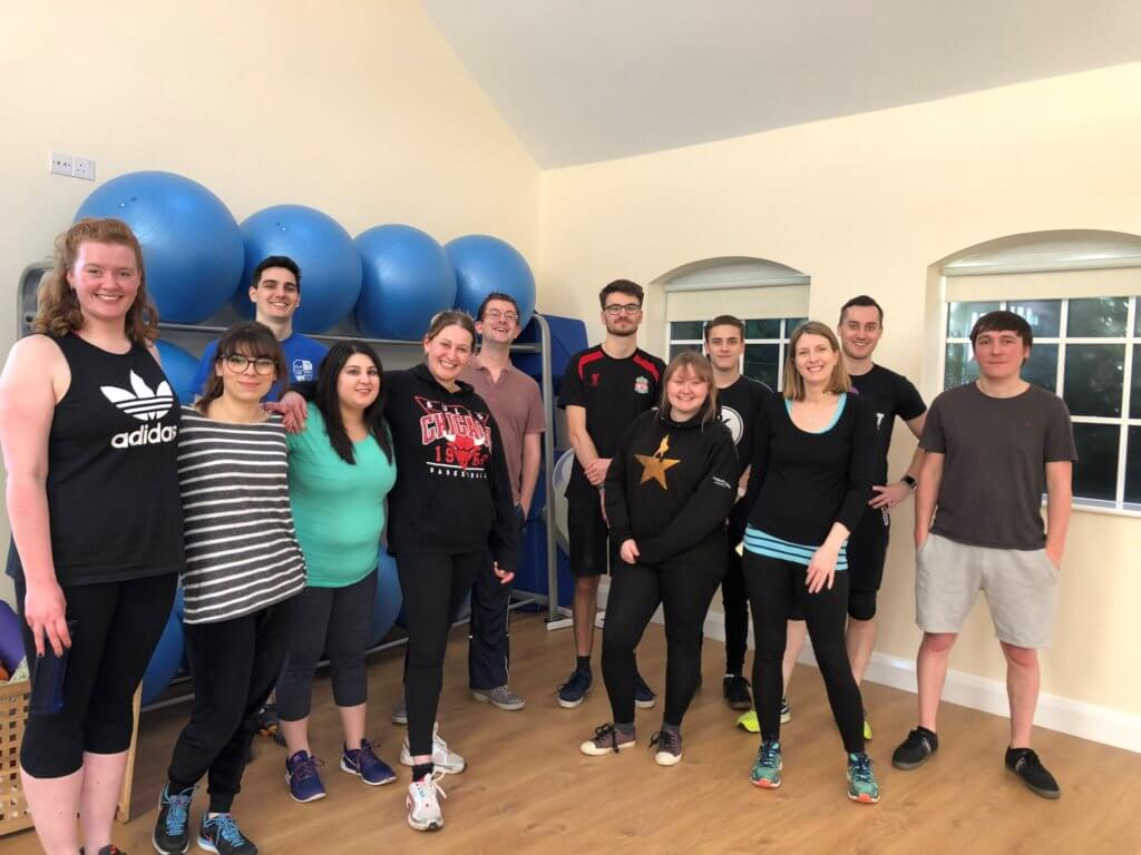 upriseUP's Weekly Fitness Classes