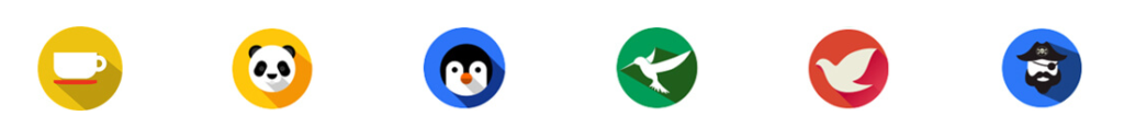Google penalty icons