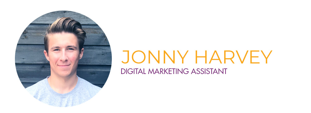 Jonny Harvey - Digital Marking Assistant