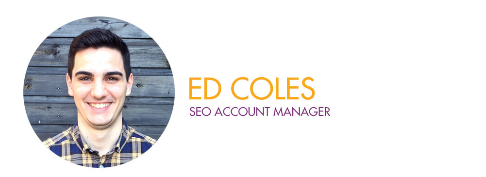 Ed Coles - SEO Account Manager
