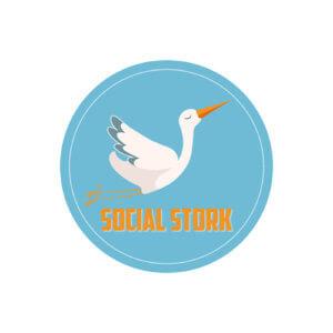 Social Stork Logo