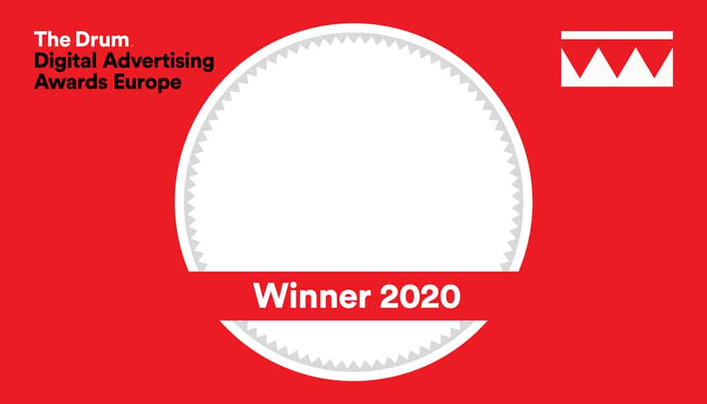 The Drum Digital Advertising Awards, Winner 2020