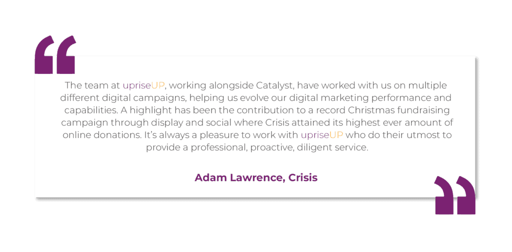 Crisis Testimonial by Adam Lawrence
