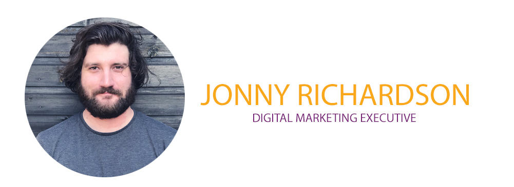 Jonny Richardson, Digital Marketing Executive