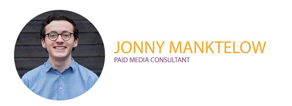 Jonny Manktelow Paid Media Consultant
